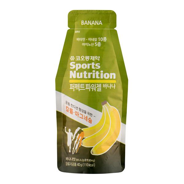 SD 뉴트리션퍼펙트파워젤바나나 1EA 코오롱제약에너지음료
